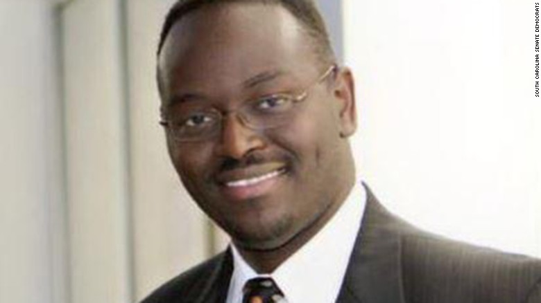 Rep. Sanford: Pastor Pinckney 'considerate and warm'
