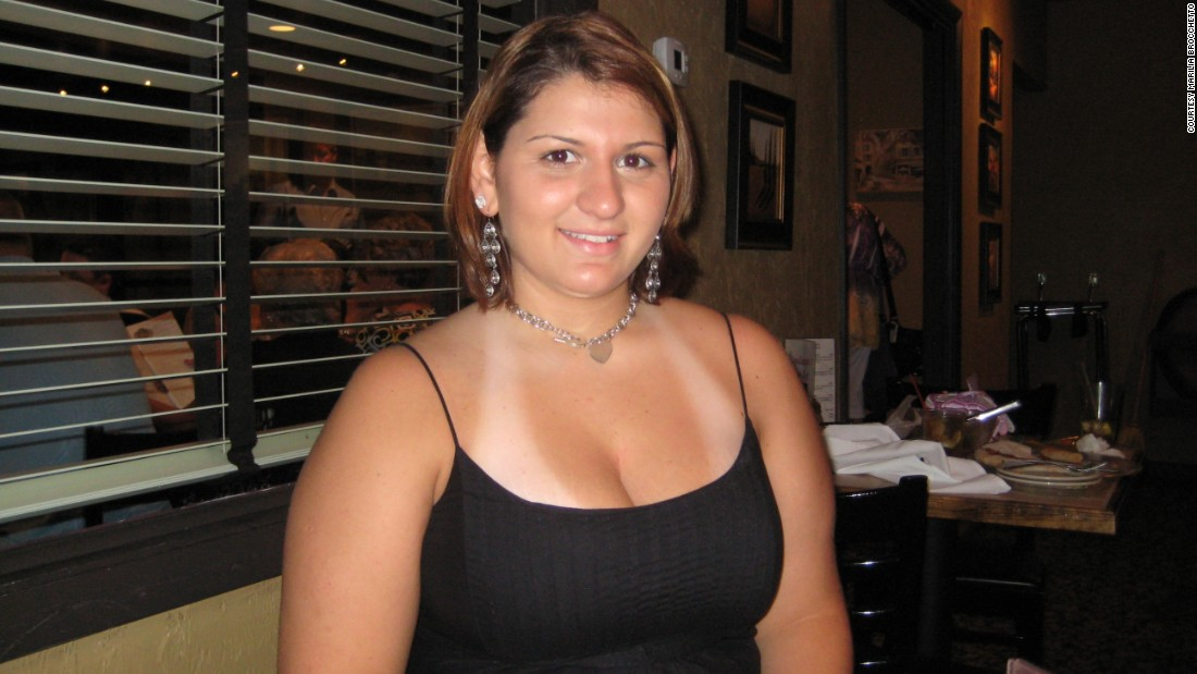 """This was in 2009, right after my college graduation. My cheeks are more round and I'm definitely a lot heavier."""