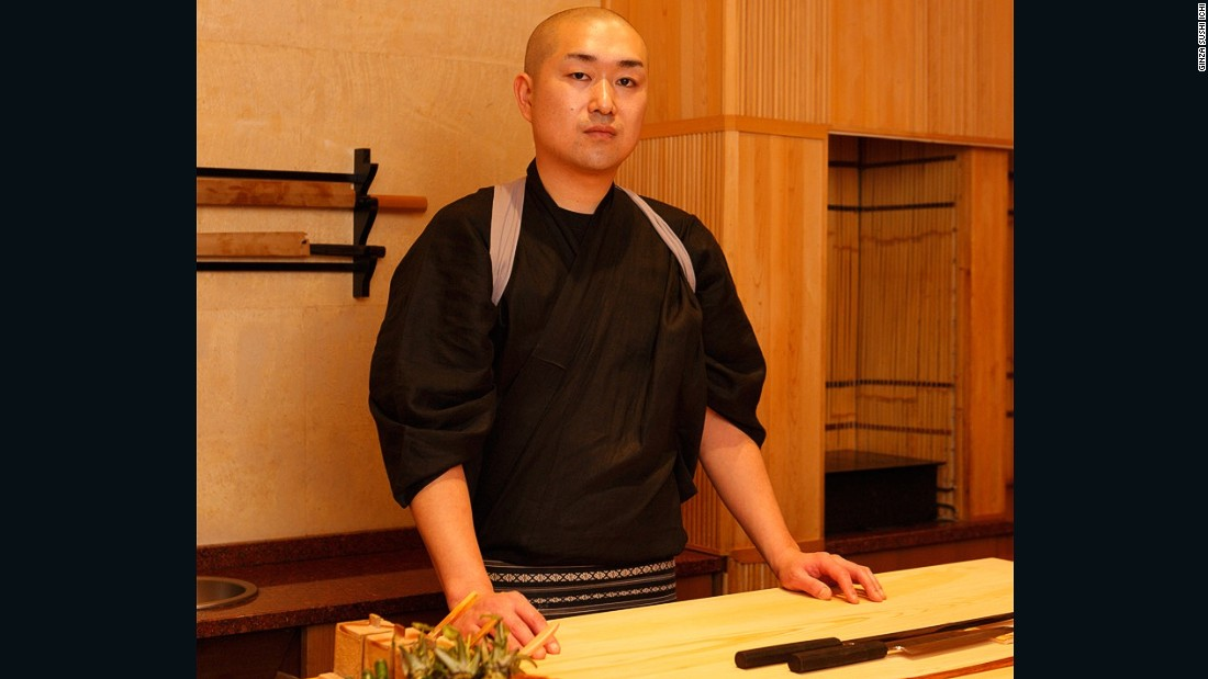 Ishibashi Masakazu is the executive head chef at Ginza Sushi Ishi, a spinoff from the Tokyo favorite.