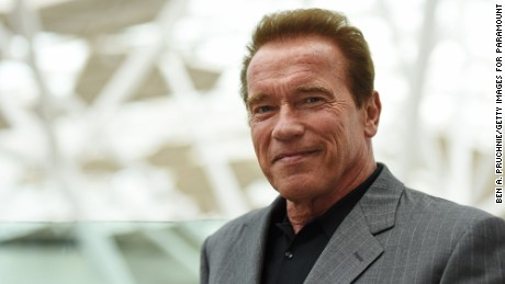 LONDON, ENGLAND - JUNE 17: Arnold Schwarzenegger attends the Fan Footage Event of 'Terminator Genisys' at Vue Westfield on June 17, 2015 in London, England. (Photo by Ben A. Pruchnie/Getty Images for Paramount Pictures International)