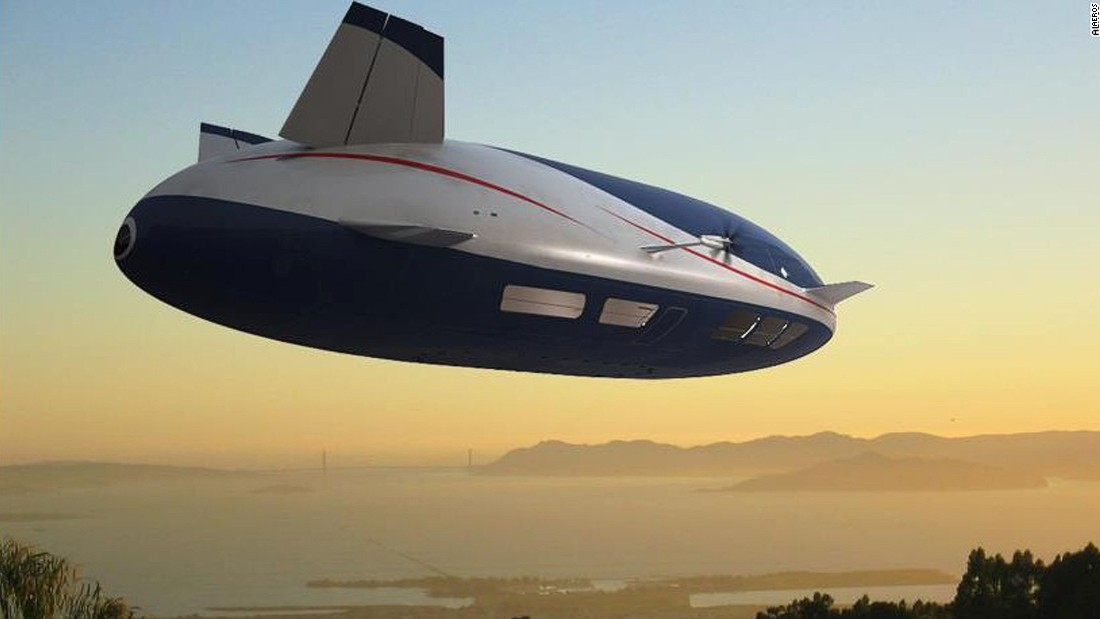 Another cargo-carrying blimp in the works is the Aeroscraft from U.S.-based aviation company, Aeros.