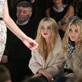 Mary-Kate and Ashley Olsen twins fashion show