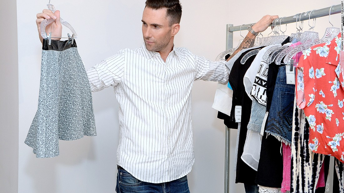 Adam Levine may not be as famous for his fashion acumen as he is his crooning, but that didn't stop the Maroon 5 front man from launching his own women's line with Kmart.