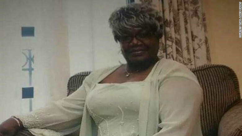 Ethel Lance, 70,  a retired city employee who worked as a custodian at Emanuel Baptist Church, was killed in the June 2015 shooting.
