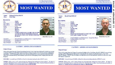 Matt Sweat Most Wanted posters