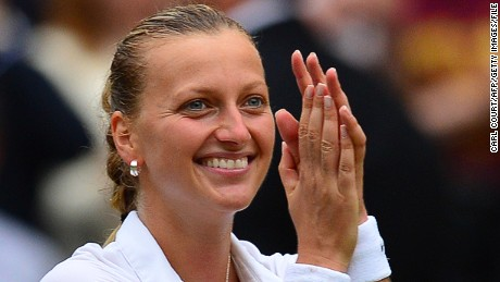 Kvitova invites CNN to her training center