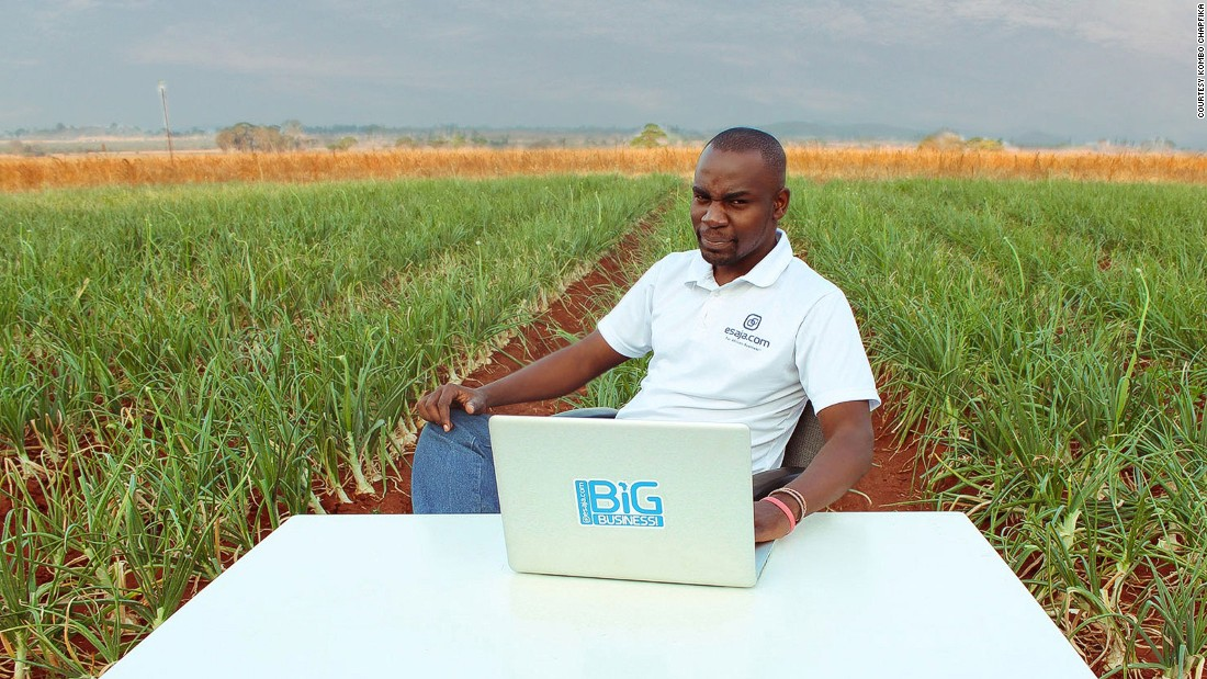 "Empowerment is key for Clinton Mutambo, whose company <a href=""http://www.esaja.com/"" target=""_blank"">Esaja</a> acts as a business network for intra-African trade by connecting buyers and suppliers. Previous experience in marketing and blogging has aided the growth of his website which allows businesses to browse suppliers and purchase just about anything imaginable."