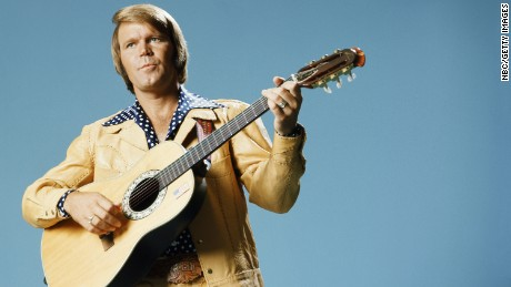 Glen Campbell: Through the years