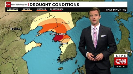 North Korea facing worst drought in 100 years