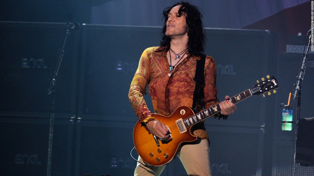 Def Leppard guitarist Vivian Campbell, 52, pulled out of the band's tour in June after his Hodgkin's lymphoma returned.