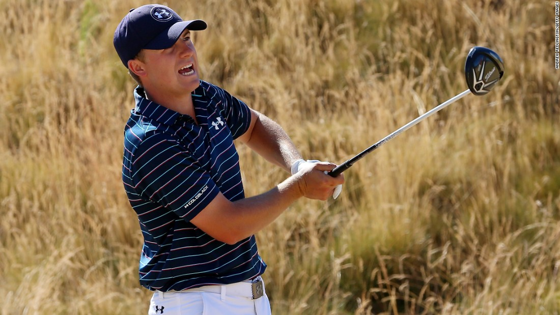 Spieth showed typical determination to edge ahead of the leading pack on the final day to claim back-to-back majors.