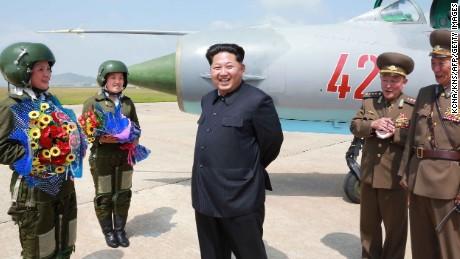 Kim Jong Un and North Korea's military