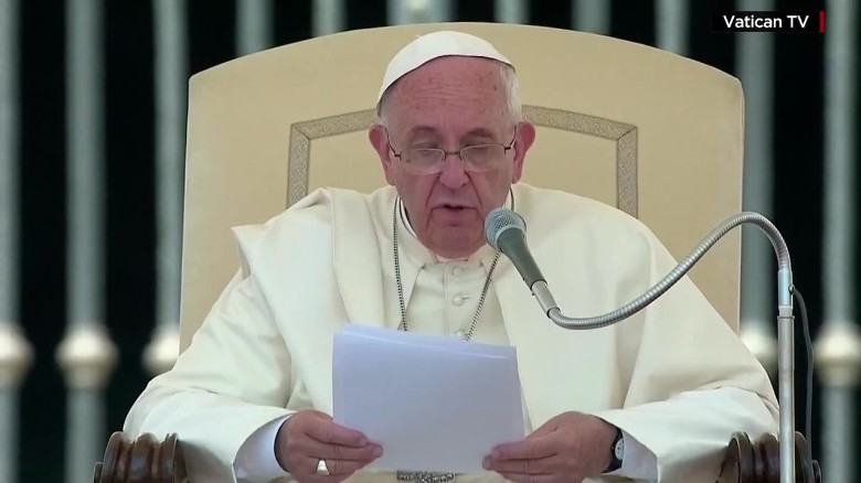 Pope deplores 'weak response' to climate change
