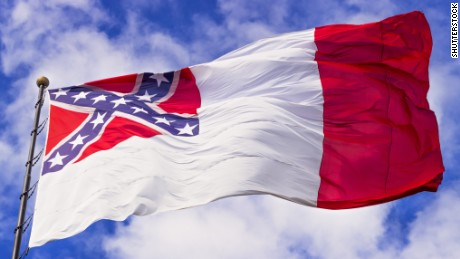 The third National Flag of the Confederacy was used in 1865.