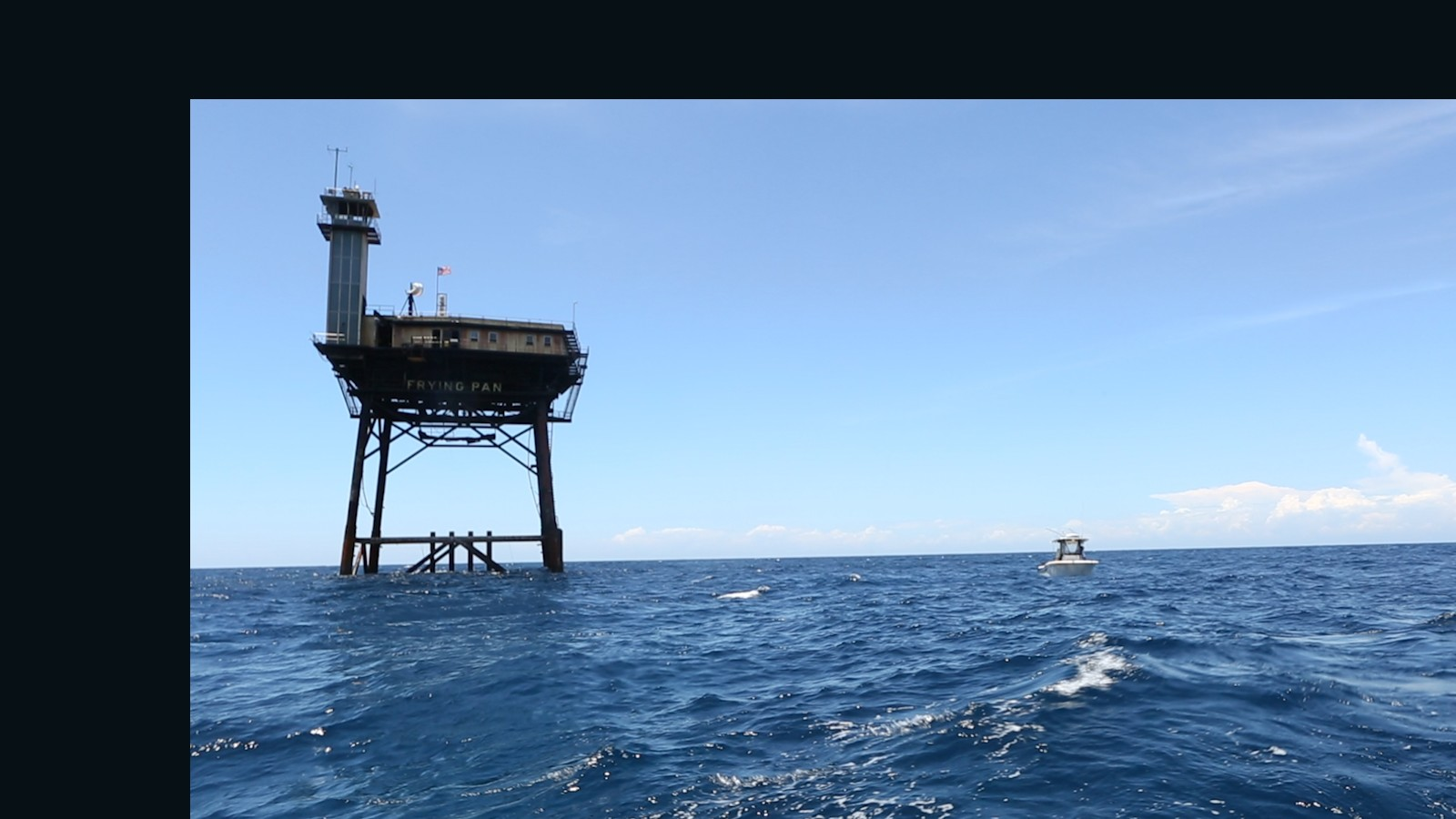 Frying pan tower offers ocean solitude and more cnn travel for Frying pan tower fishing
