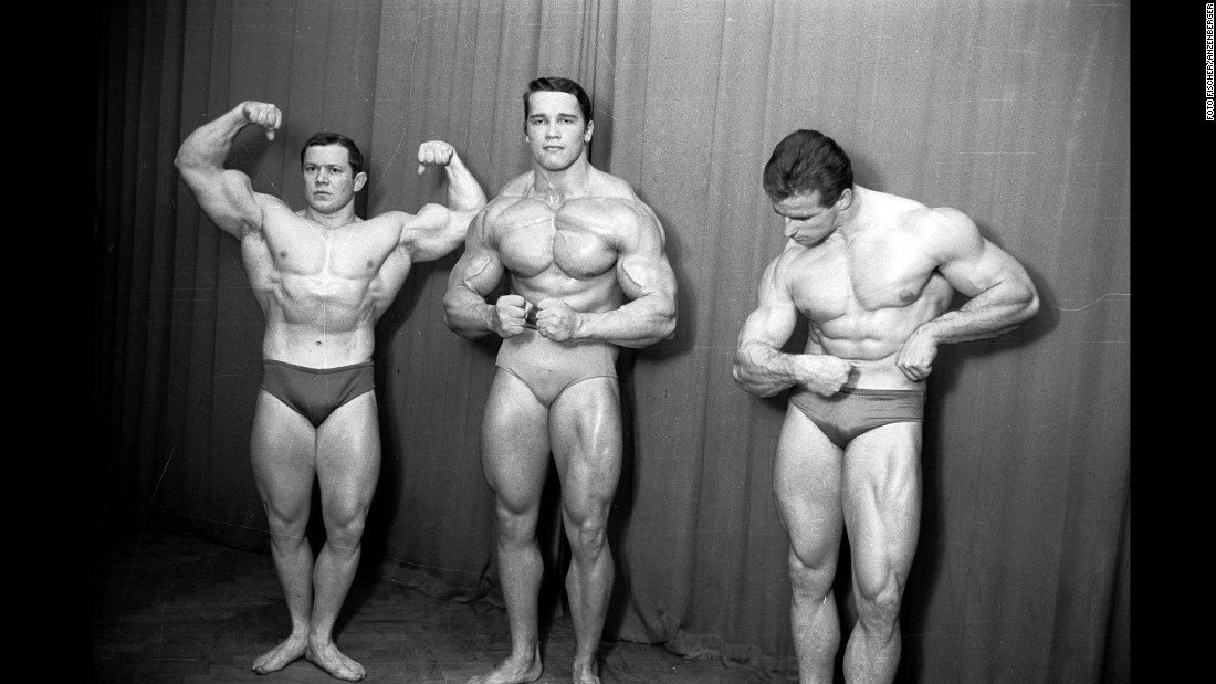 Later in 1965, Schwarzenegger was invited to compete in the junior division of Mr. Europe during basic training of his mandatory military service. He spent a week in detention for deserting, but it was worth it: He came in first and earned an invitation to train in Munich, Germany. Two years later, he won his first Mr. Universe from the National Amateur Bodybuilders Association. The rest, as they say, is history.