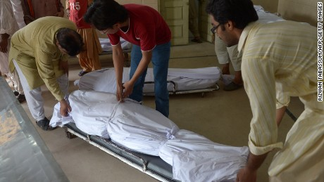 Pakistan heat: 'I have no water, no power at my home'