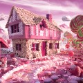 foodscapes carl warner- candy