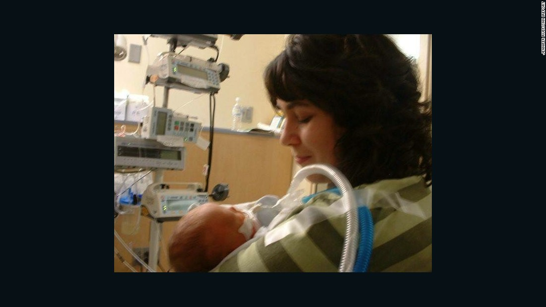 Edison was born prematurely and spent the first eight months of his life in the neonatal intensive care unit.