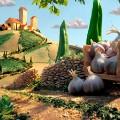 foodscapes carl warner- tuscany landscape