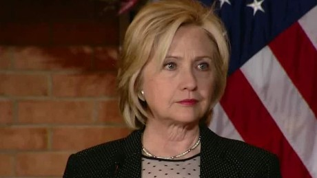 hillary clinton talks confederate flag in Ferguson keilar sot lead _00003520