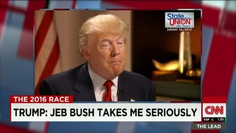 "Trump: ""Jeb Bush Takes Me Seriously""_00012612"