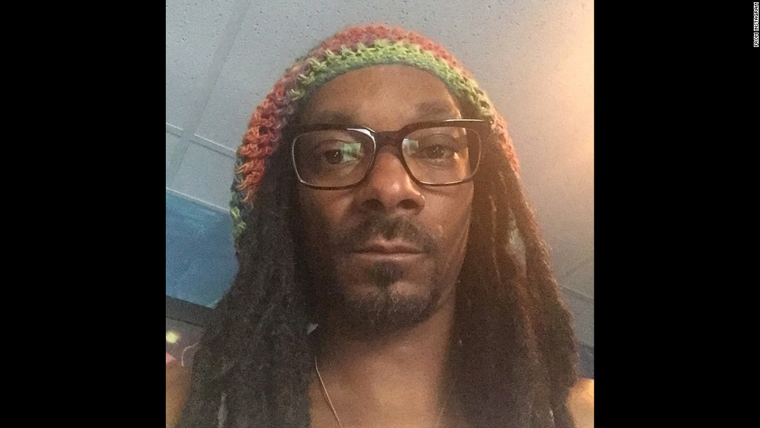 "Snoop Dogg takes a selfie while wearing glasses on Monday, June 22. ""Lens crafters,"" <a href=""https://instagram.com/p/4P8BMnP9B6/"" target=""_blank"">the rapper wrote on Instagram.</a>"