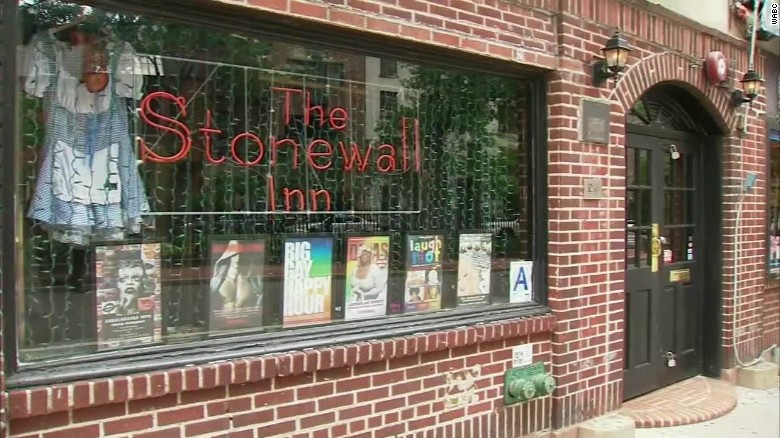 New York City's Stonewall Inn now a designated landmark