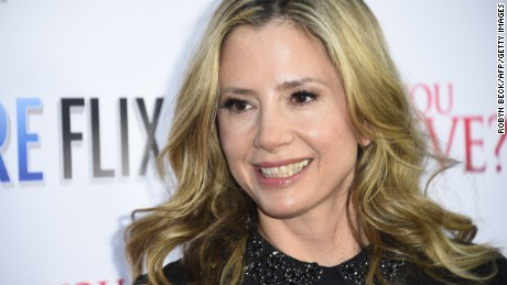 Actress Mira Sorvino.
