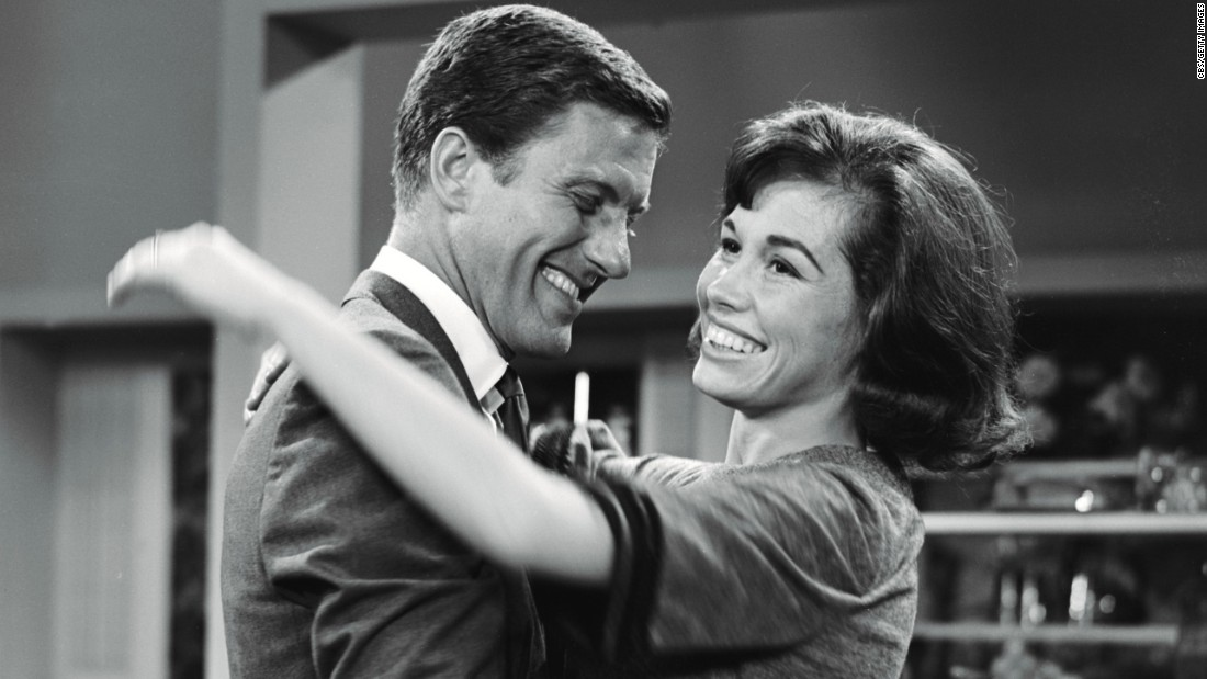 "Rob and Laura Petrie set the standard for many a sitcom marriage. You had two gifted comic actors (Dick Van Dyke and Mary Tyler Moore) with chemistry to beat the band. Plus sitcom wives weren't expected to be sex symbols when ""The Dick Van Dyke Show"" first appeared in 1961."