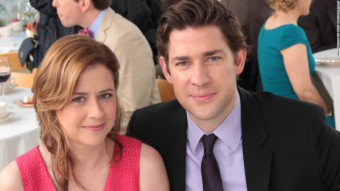 "The ""will they or won't they?"" status of Jim Halpert (John Krasinski) and Pam Beesly (Jenna Fischer) remained the heart of ""The Office"" from early on. They did finally get married and have two children."