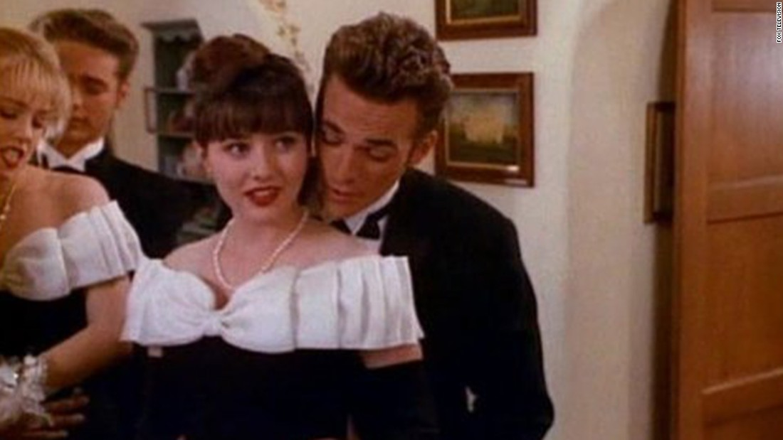 "Dylan McKay and Brenda Walsh (Luke Perry and Shannen Doherty) were the ""It"" couple on ""Beverly Hills 90210,"" helping the show become one of Fox's first hits. But there was friction between Doherty and other cast members, and that was it for romance. Here's a look at other TV couples we've cheered on."