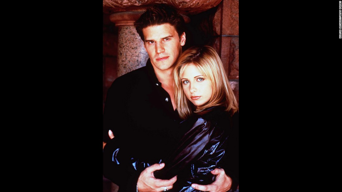It became clear this romance was doomed as soon as it turned out that a night of passion with Buffy (Sarah Michelle Gellar) would turn vampire-with-a-soul Angel (David Boreanaz) back into his evil self, Angelus. Buffy ended up with another vamp; Spike and Angel ended up with a spinoff. Here's a look at other TV couples we've cheered on.