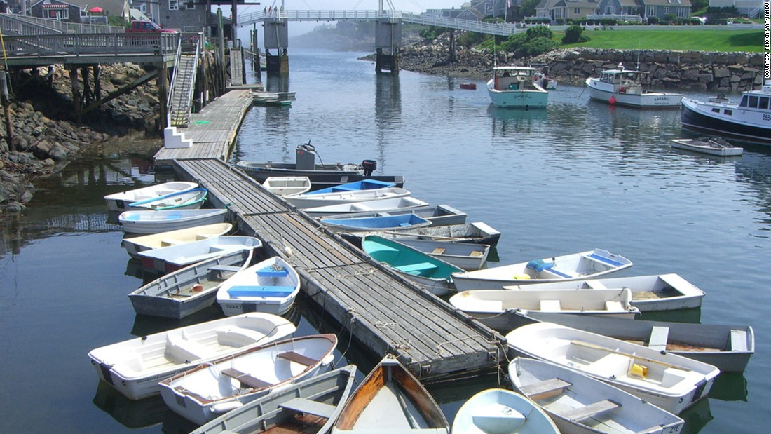 "Ogunquit means ""beautiful place by the sea"" in the  Abenaki language of its Native Americans. You can spend the day learning how to catch lobsters or, if you're lucky, get asked to open the manually operated drawbridge for boats as you pass by."