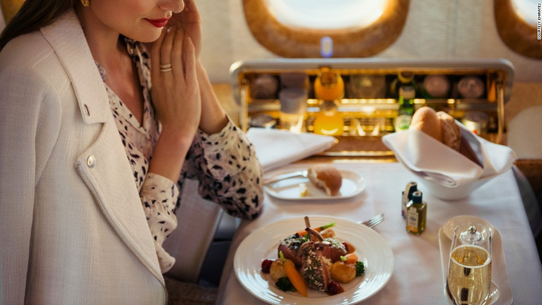 The UAE-based airline has become a calling card for luxury, and its wine list is no different. It offers the highly-prized Dom Perignon 2004 champagne in its first class, described as super-racy, elegant and mineral driven.