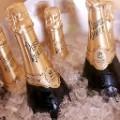 Champagne fliers Korean Air