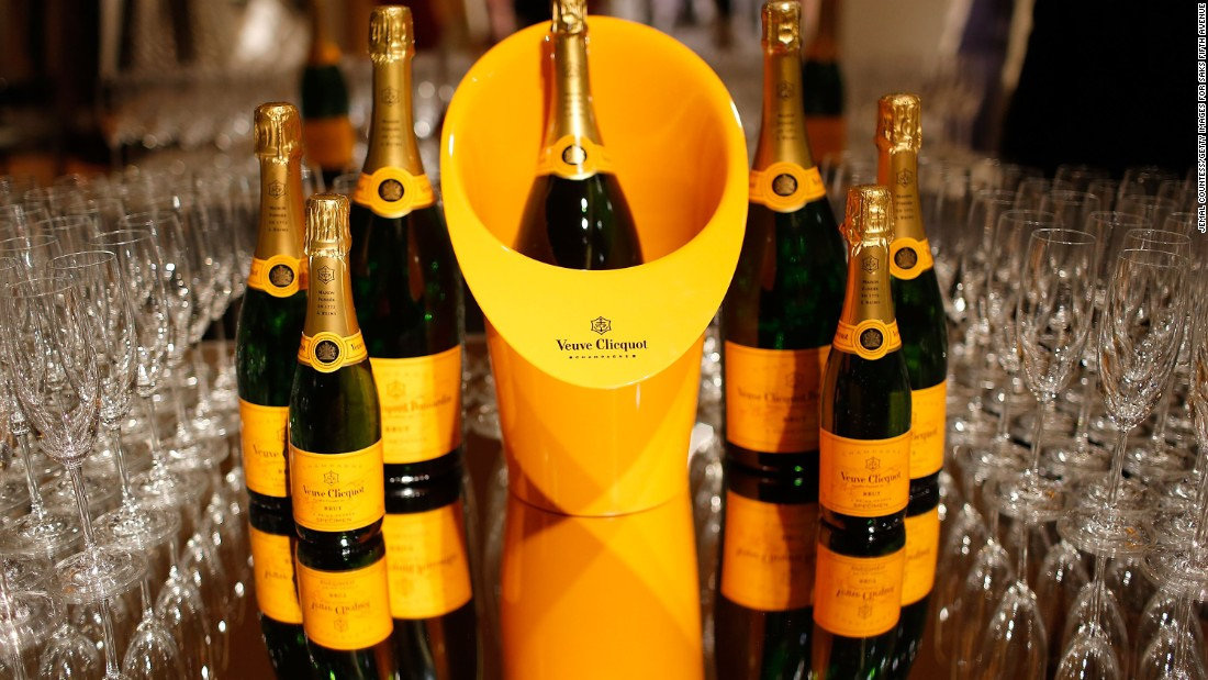 In June and July, Air France serves Veuve Clicquot La Grande Dame 2004.