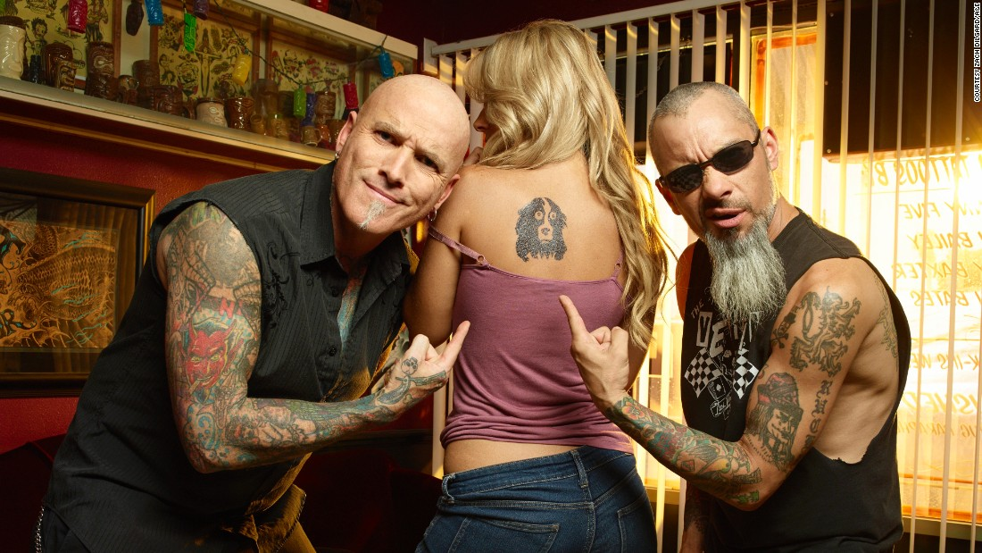 "<strong>""Bad Ink"" season 1</strong>: The A&E reality series follows tattoo artist Dirk Vermin of Las Vegas, who makes it his business to cover bad tattoos with something better. (Netflix)"