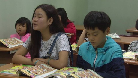 School helps out young North Korean defectors