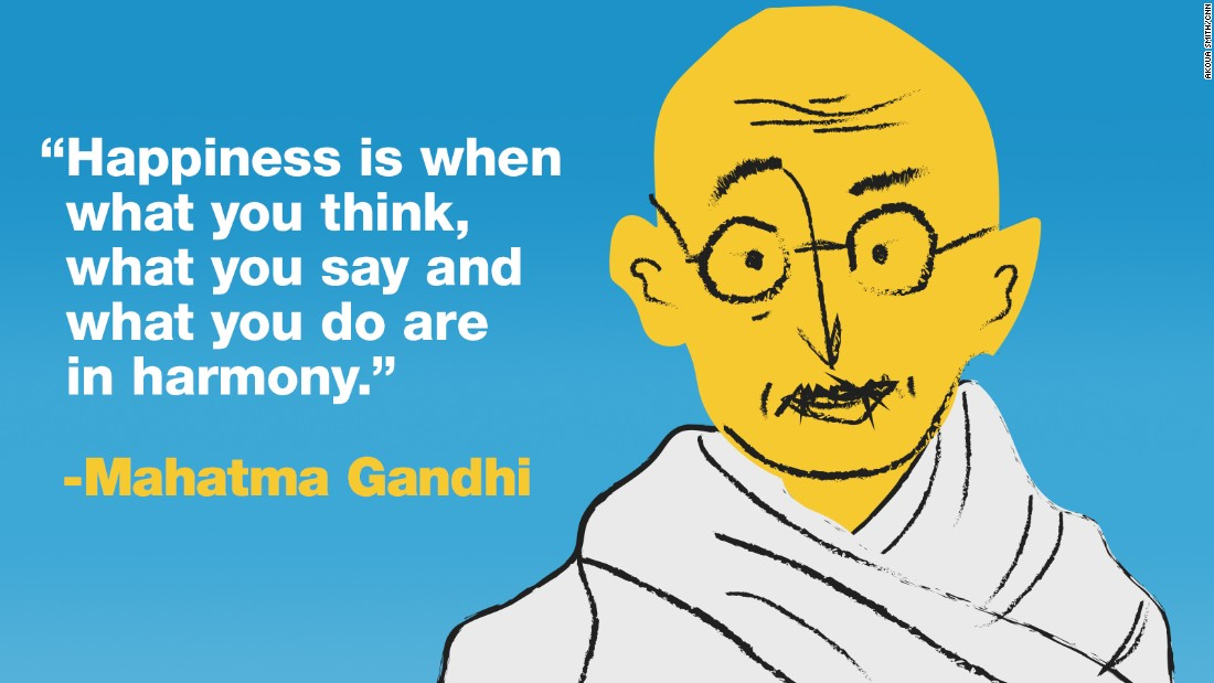 Project Happy quotes Gandhi final