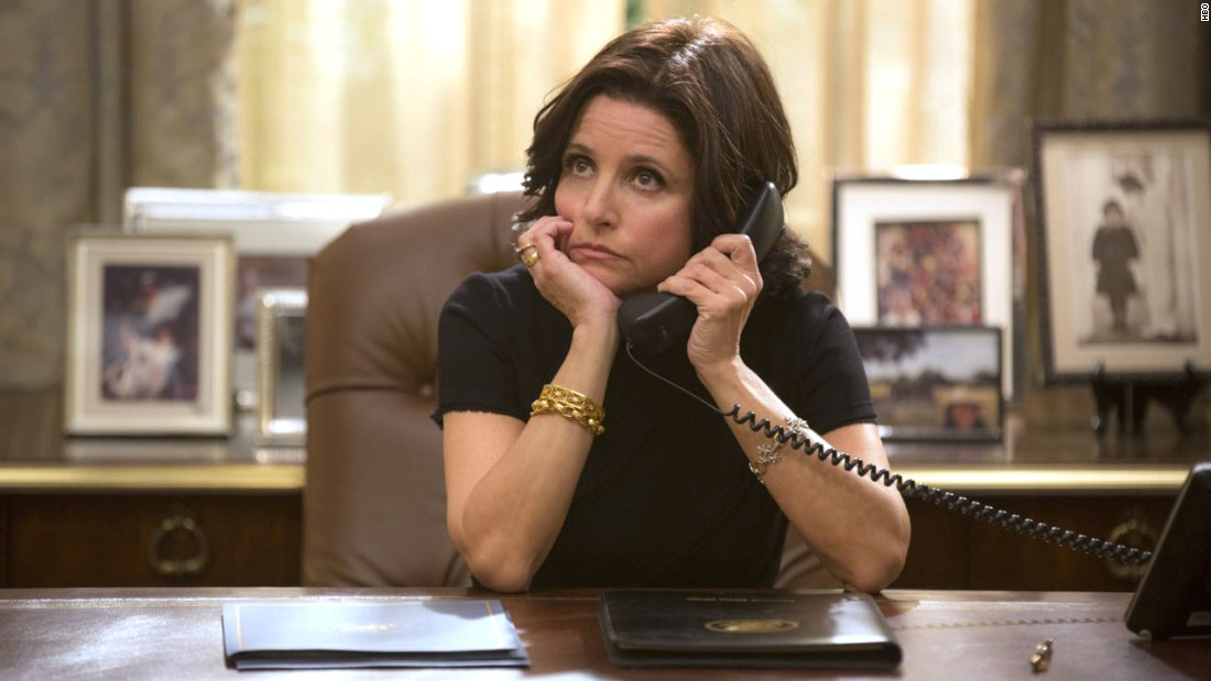 "Julia Louis-Dreyfus stars in HBO's ""Veep"""