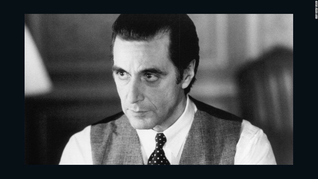 "Widely considered one of America's best actors, it wasn't until 1993, on his seventh try, that Al Pacino won best actor for ""Scent of a Woman."""