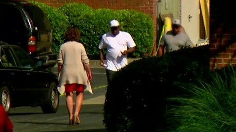 Bobby Brown seen outside daughter's hospice facility