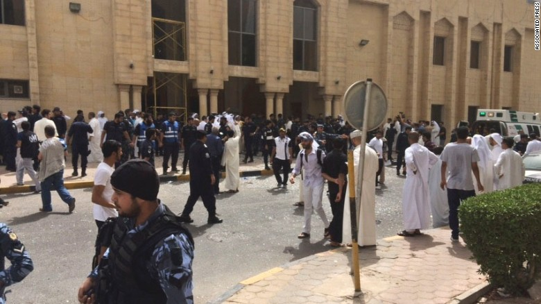 ISIS claims responsibility for mosque attack in Kuwait