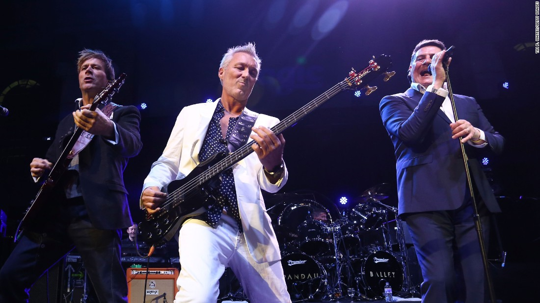 "Steve Norman, Martin Kemp and Tony Hadley of Spandau Ballet -- performing in 2014 -- are booked for music festival performances this summer ahead of a new album release next year. <a href=""http://www.newsday.com/entertainment/music/reunited-spandau-ballet-enjoying-unexpected-u-s-reception-1.10305461"" target=""_blank"">A feud over music rights </a>sparked a rift that lasted many years before they reunited in 2009."