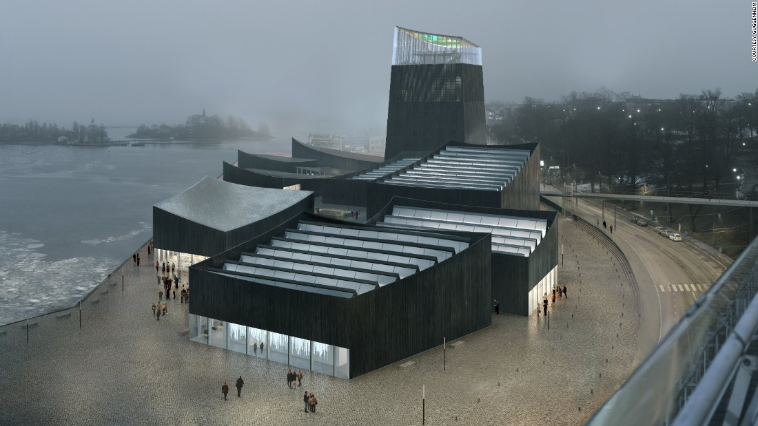 "Featuring nine low-slung pavilions connected by outdoor walkways, the winning design for Guggenheim's Helsinki branch is the work of relatively unknown Paris firm <a href=""http://www.moreaukusunoki.com/"" target=""_blank"">Moreau Kusonoki.</a>"