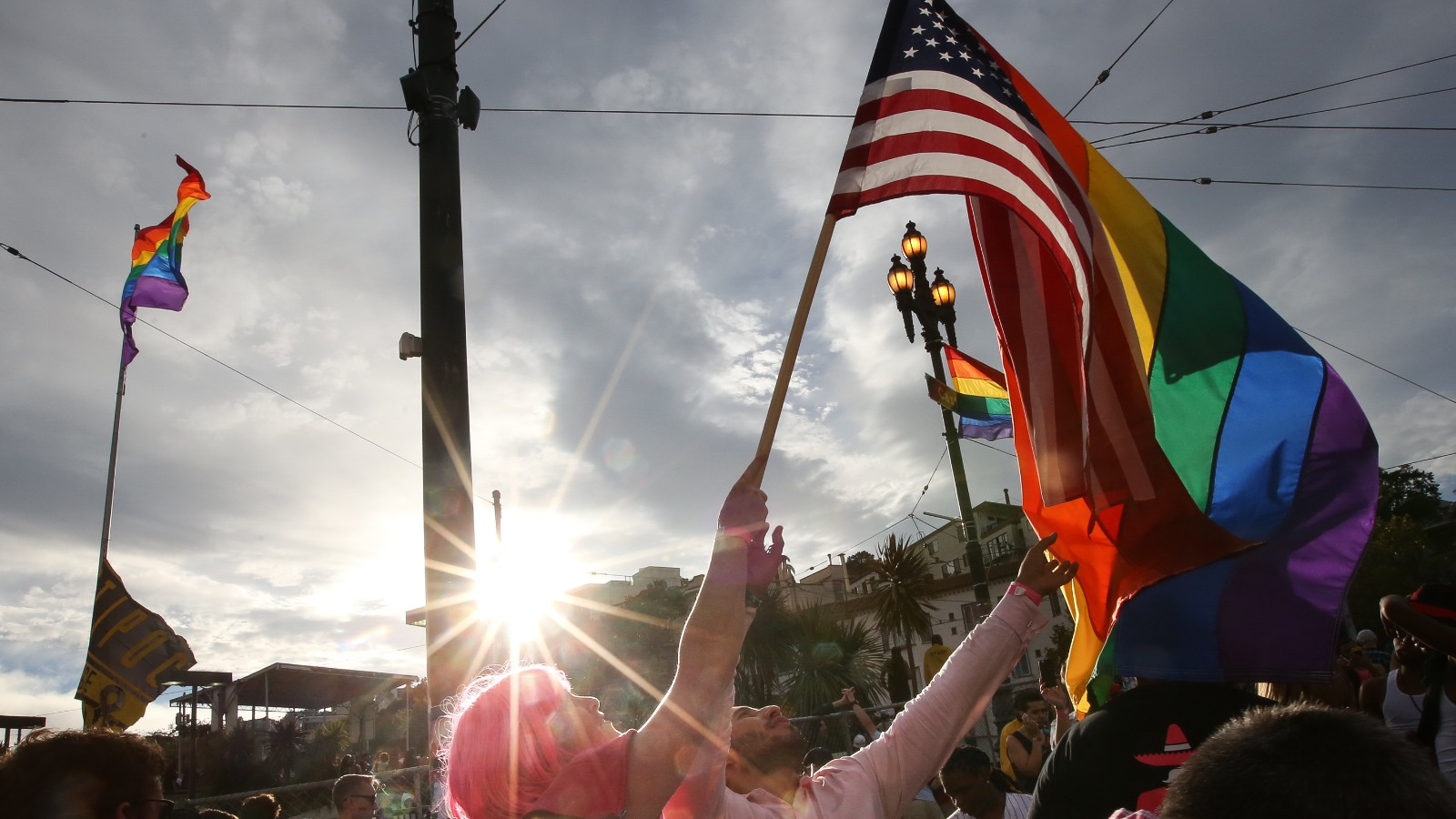from Ford live webcast sf gay pride