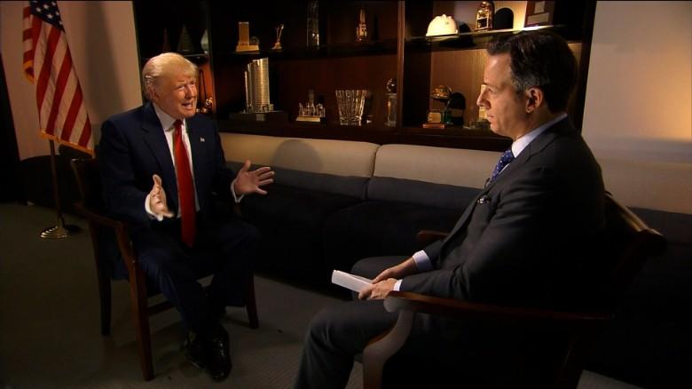 """Trump is """"in it to win it"""""""