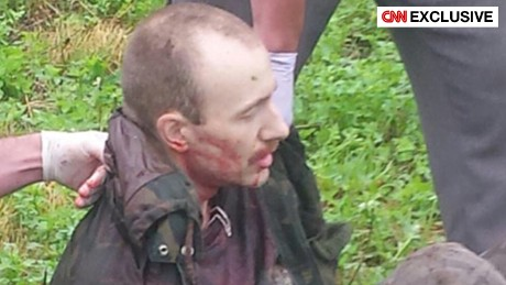 CNN exclusive photo: David Sweat during his capture.