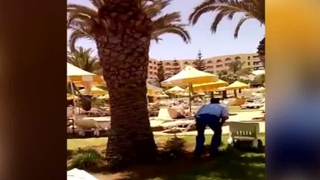 tunisia hotel attack scene facebook video robertson cnni vo_00001507